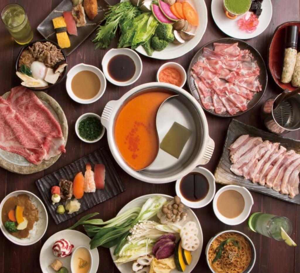 台北-和菜庵  超值吃到飽(牛豬雞方案)