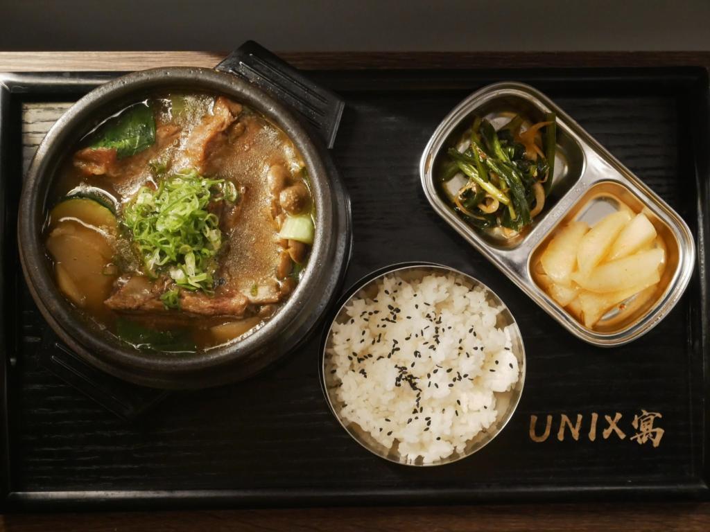 台中-UNIXx寓複合式餐酒館| 豚骨鍋套餐